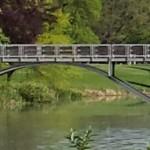 Foot bridge on the Lake