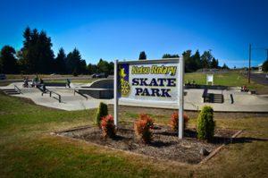 Skate Park in Kelso