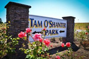 Tam O'Shanter Park sign