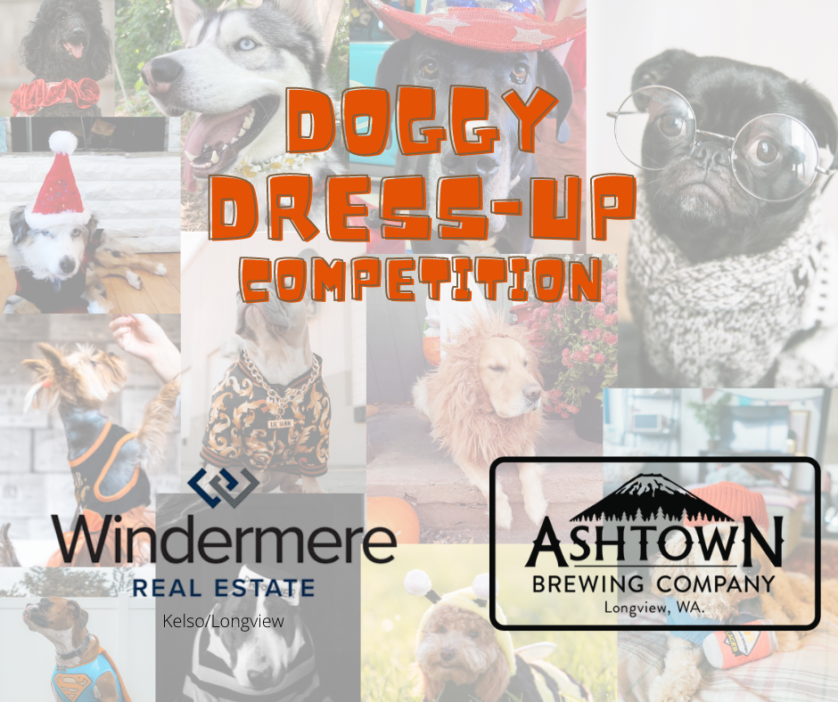 Doggy Dress-up Competition announcement